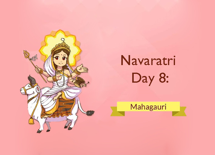 The essence of Navaratri: Day 8: MahaGauri