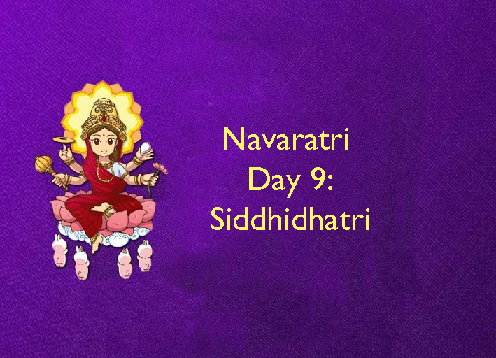 The essence of Navaratri: Day 9: Siddhidhatri