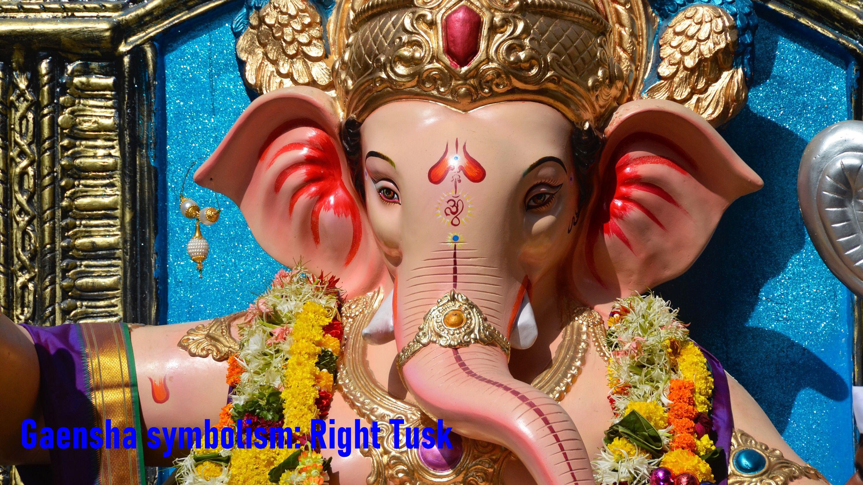 Ganesha Symbolism Day 6: Tusk