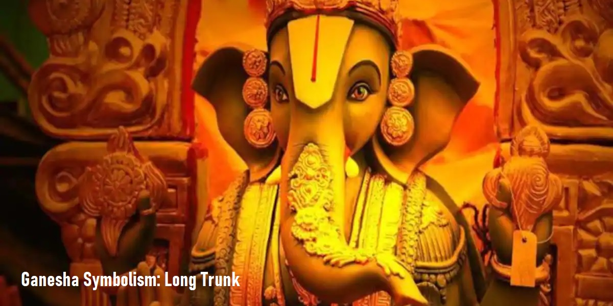 Ganesha Symbolism Day 5: Trunk