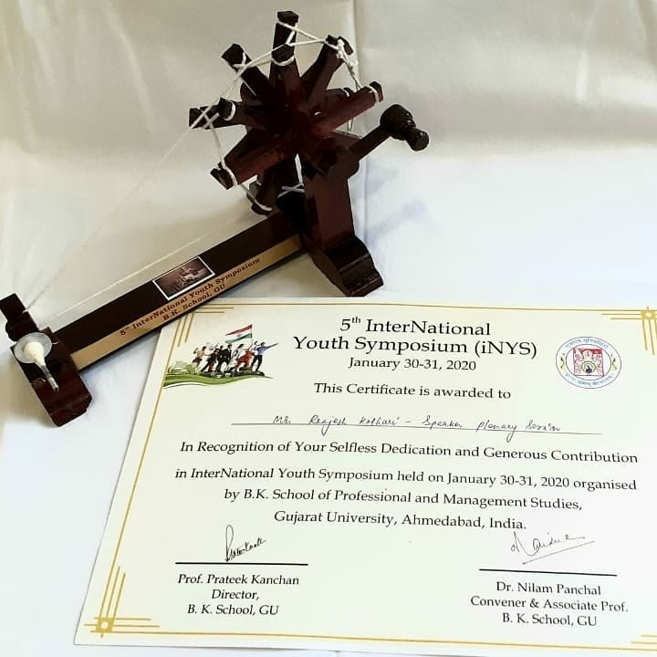 International Youth Symposium B.K School Of Management